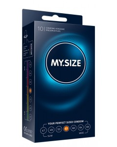 MY.SIZE 57 mm Condooms 10 stuks