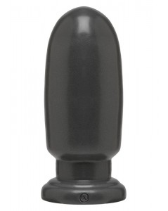 Shell Shock Grote ronde dildo zwart